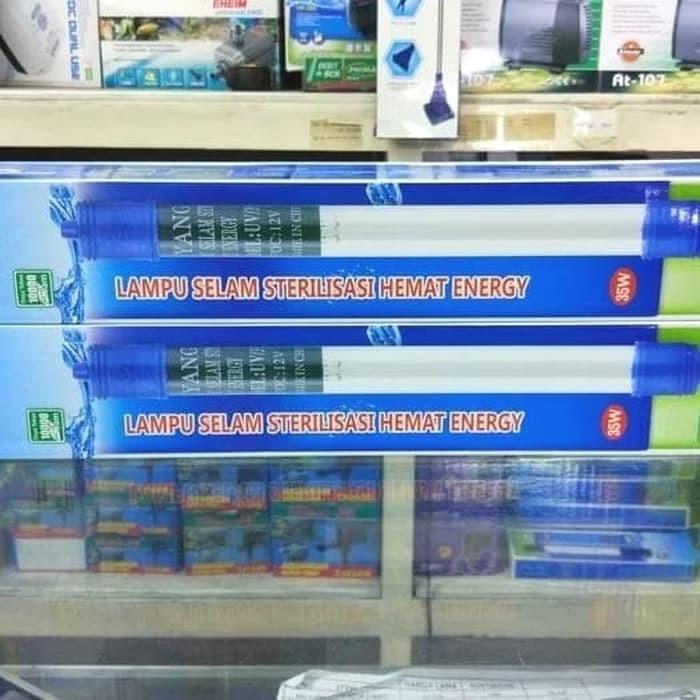 Jual Lampu Uv Yang 35watt Kolam Aquarium Celup Rendam Ikan Koi Lumut Murah Dki Jakarta Aquarium Shopp Tokopedia