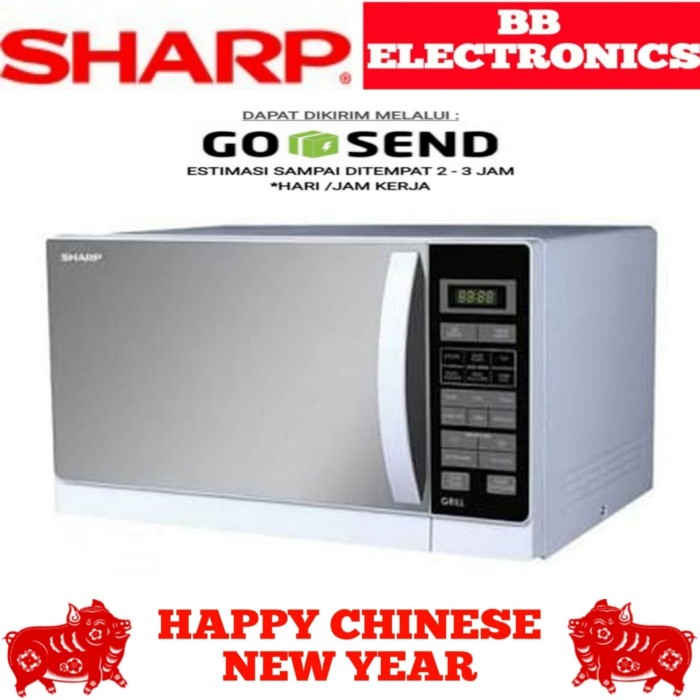 microwave sharp R-728(W)IN