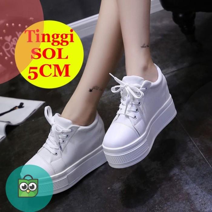 Jual Sepatu Wedges Tinggi 5cm wanita
