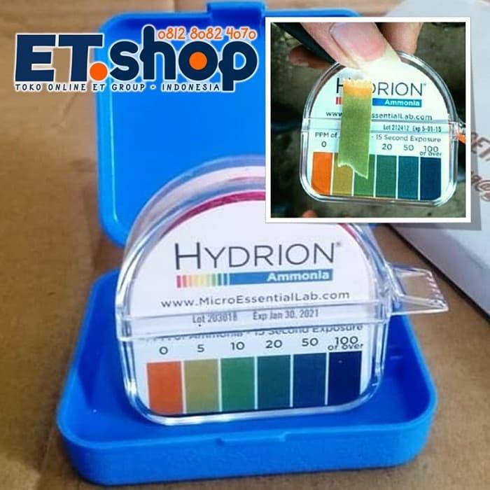 Foto Produk Teskit Amonia | Uji Amoniak | Hydrion AM-40 Ammonia Testkit Paper dari easytest