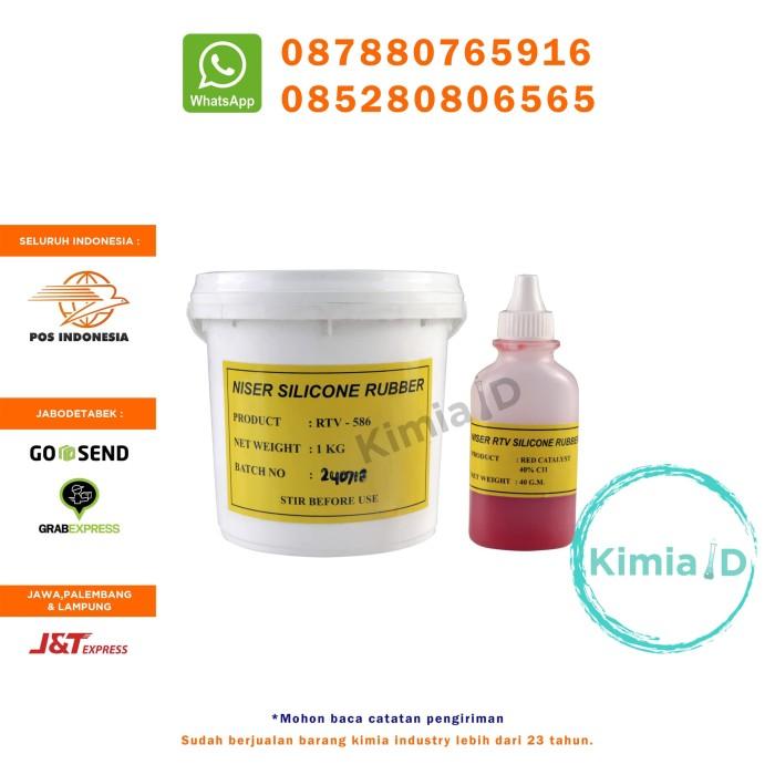 harga Silicone rubber rtv 586 - 1kg - cetakan casing handphone - cover hp Tokopedia.com