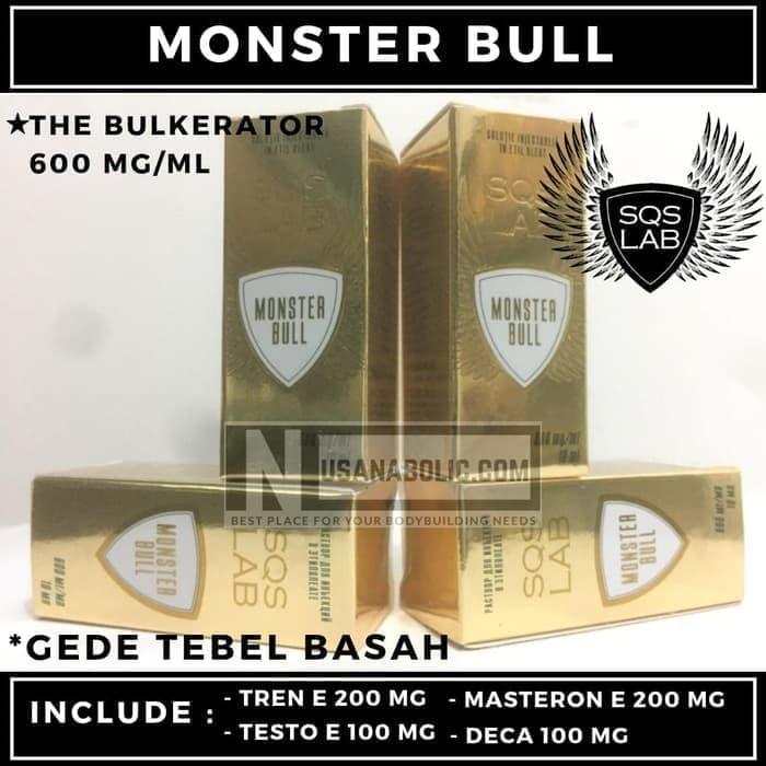 Jual Mantap Berotot MonsterBull MONSTER MIX Tren E Mast E Deca Test E 600mg  - Bulking Master | Tokopedia