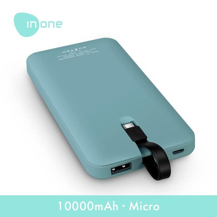 Foto Produk INONE Power bank P5 10000mAh 2A Powerbank Micro Usb for Android dari Inone Official Shop