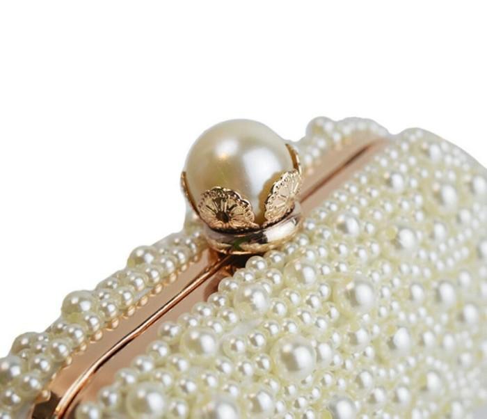 4954e61a1a4 Jual Rdywbu Best New Noble Female Pearl Clutch Bags Purse 2018 ...