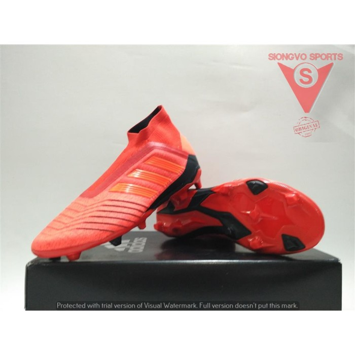 Jual Sepatu Bola Anak Adidas Predator 19 Fg J Original Cm8525 New