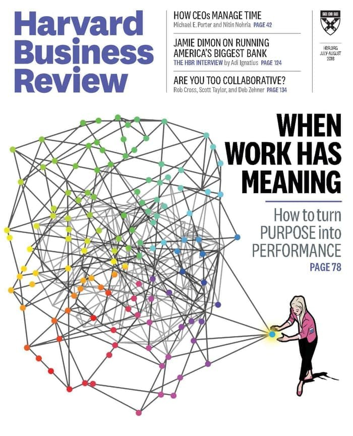 Harvard Business Review (HBR), July/August 2018 [eBook/e-magazine]