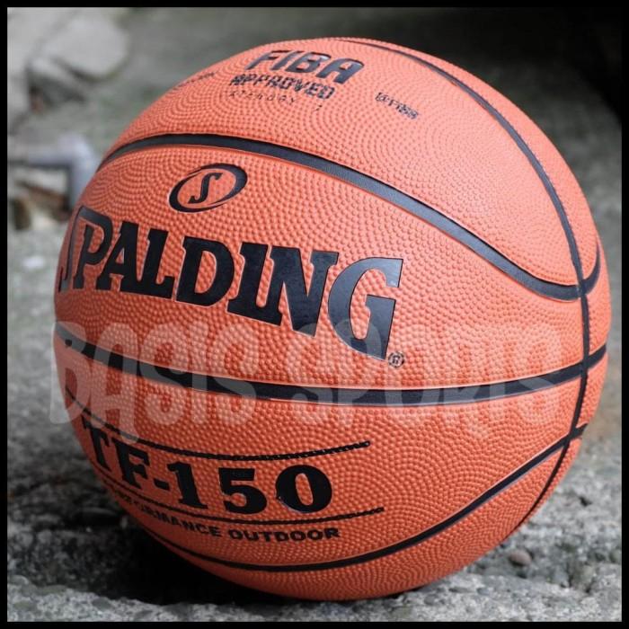 Bola Basket Spalding Tf150 Fiba Approved