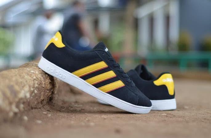 Jual Bener Ok Sepatu Pria Adidas Sneakers Casual Neo Derby Import ... d88ad6c08b