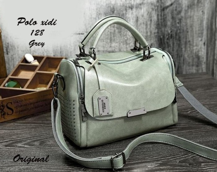 Tas Wanita Polo Xidi Branded Imporr ORIGINAL Fashion Mewah Kuliat Asli c2cfcf705e