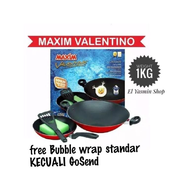 Maxim Valentino Set Alat Masak [2 Pcs] Murah