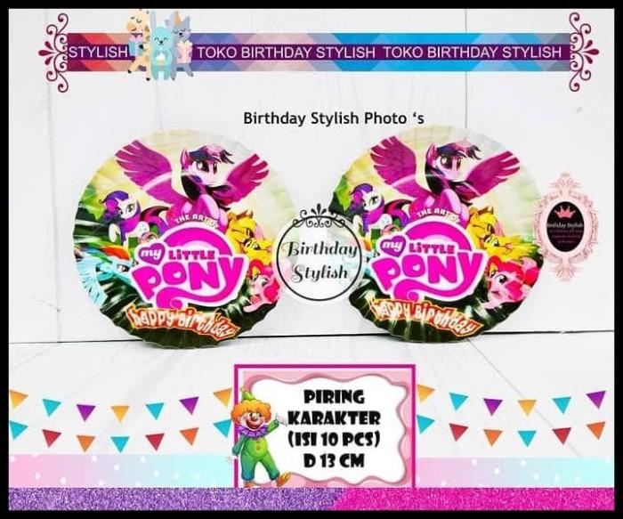 Jual Hot Sale Piring Kue Ulang Tahun Karakter My Little Pony Isi 10 Pcs Jakarta Selatan Rudybudhianto46 Tokopedia