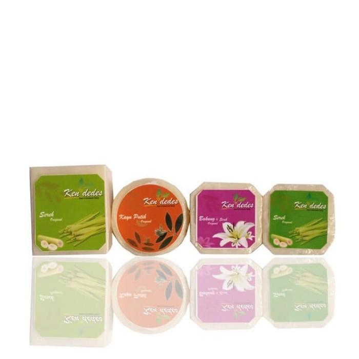 Sabun Sereh Bunga Bakung - Ken Dedes Sabun Kecantikan - Berat 180gr