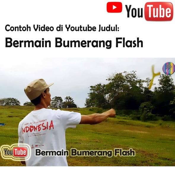 Foto Produk terlaris Bumerang Boomerang Flash Mainan Anak Edukatif Tradisional dari Deswita yuni