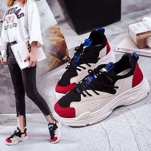 Jual Sepatu Sneakers Sport Wanita