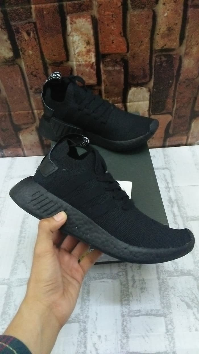 size 40 76c98 8c231 Jual ADIDAS NMD R2 JAPAN TRIPLE BLACK UNAUTHORIZED AUTHENTIC (UA) - Kota  Medan - Ricky Shoes | Tokopedia