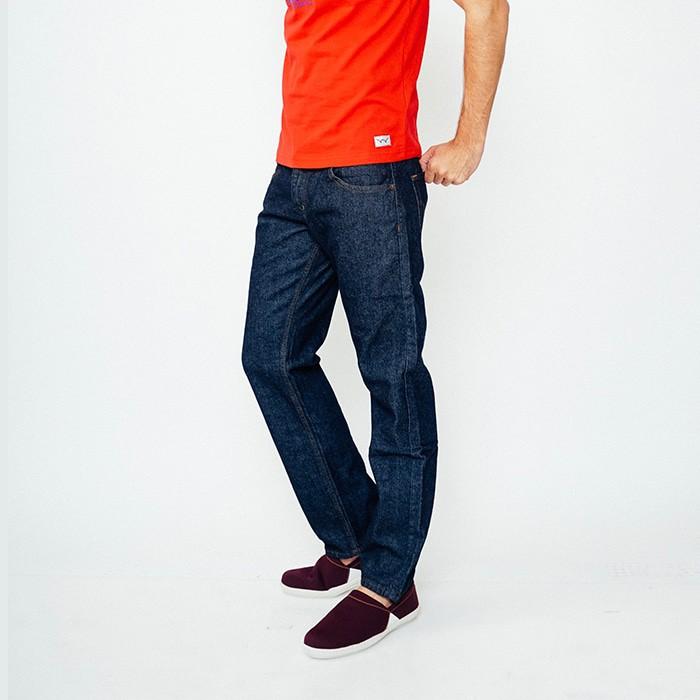 Review Edwin Celana Jeans Pria Panjang Biru Garment (506-Leo-01) Di ... 56bf6e82b3