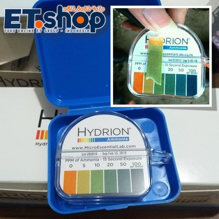 Foto Produk Tes Kit Amonia | Uji Cepat Amoniak | Hydrion AM-40 Ammonia Test Paper dari Wak Sunar