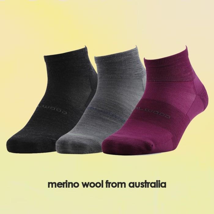 harga Kaos kaki zealwood merino lifestyle 18 short sock - ungu s Tokopedia.com