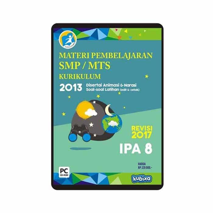 Foto Produk CD MATERI PEMBELAJARAN IPA SMP-MTS KELAS 8 dari SMART EDUMEDIA