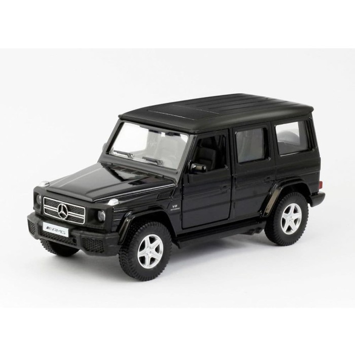 Rmz city diecast mercedez benz g63 skala 1:32 freewheel black
