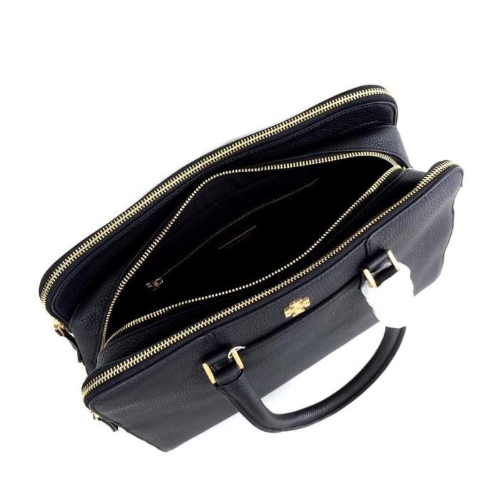 14f40faf2cb3 Jual Tory Burch Georgia Pebbled Double zip satchel - Kota ...