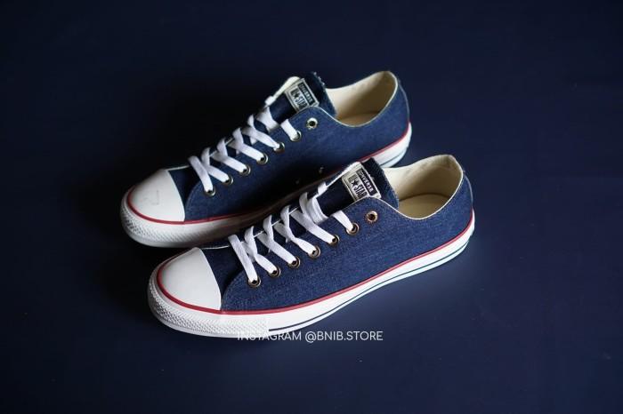 Jual Sepatu Pria Converse Chuck Taylor All Star Denim - 161489C ... 4fbe6d46d1