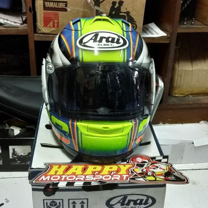 Foto Produk SALE!!! Helm Arai RX-7RR5 68 Repaint size L dari Happy MotorsportKadipiro