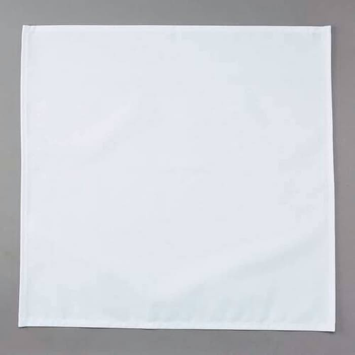 Foto Produk serbet/napkin putih polos full cotton/damask/damas hotel/resto 52x52cm dari Pusat Horeka