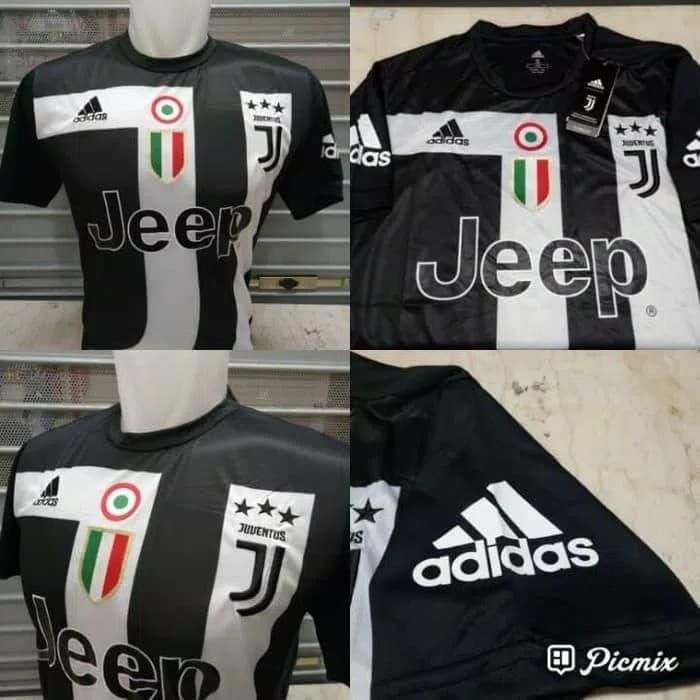 939e6a20dcc Jual Jersey Bola Juve Juventus EA Sport Hitam 2019 2020 Grade Ori ...