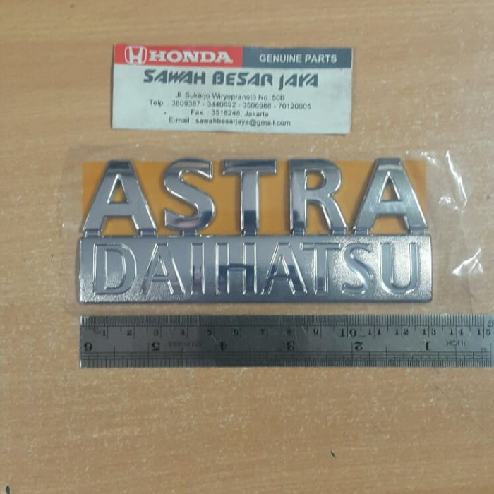 Foto Produk emblem astra daihatsu ayla sigra xenia original dari SawahBesarJaya