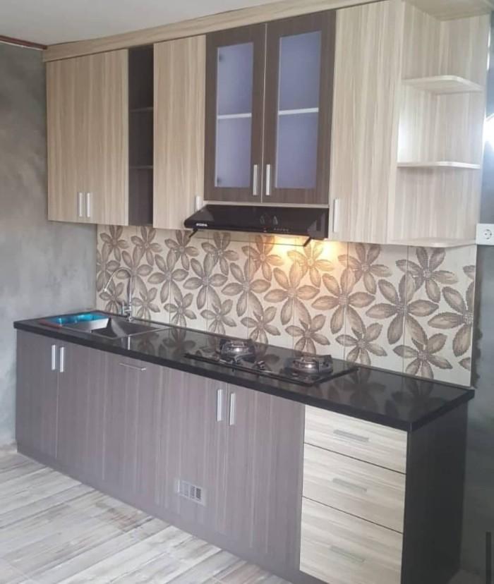 Jual Kitchen Set Dapur Minimalis Murah Bandung Apartemn Bawah Tangga Custom Kota Bandung Naif Furniture Tokopedia