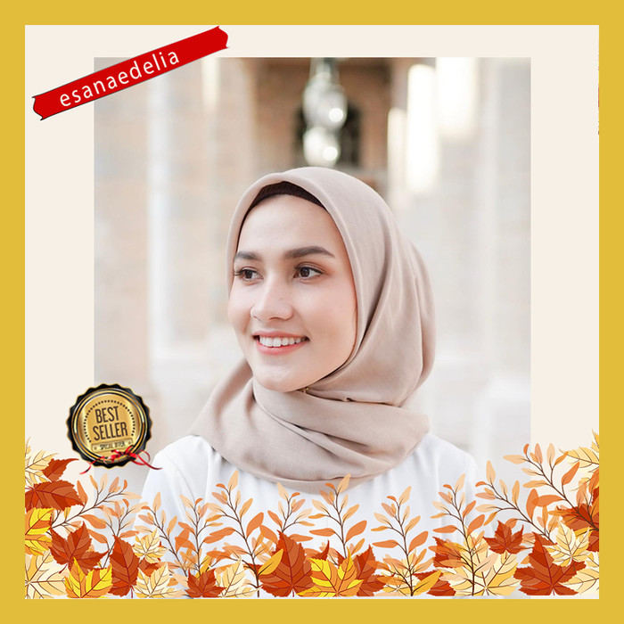 Hijab voal (paris voal) part 2 / jilbab paris voal polos