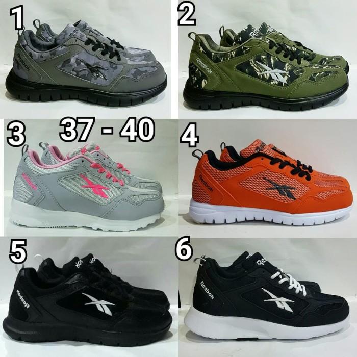 Jual Sepatu Pria   Wanita Sepatu Reebok Running Terbaru - Biru Muda ... 0495e95f4f