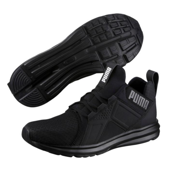 Jual sepatu olahraga original puma enzo mesh run black - RIZKI ... c763c10c4