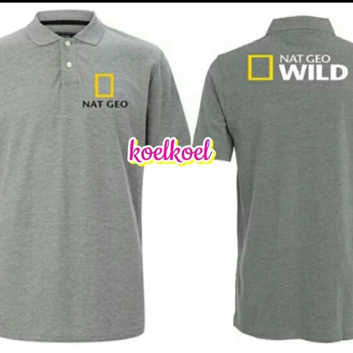 Jual Kaos Polo Nat Geo Logo Wild Belakang Hijau Muda Xl Kota Bekasi 45 Collection Tokopedia