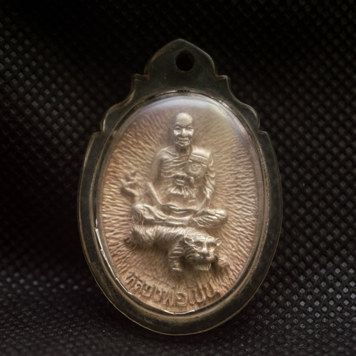 LP Pern Wat Bang Phra Thai Amulet The Sacred Yant iPhone X Case Silicone
