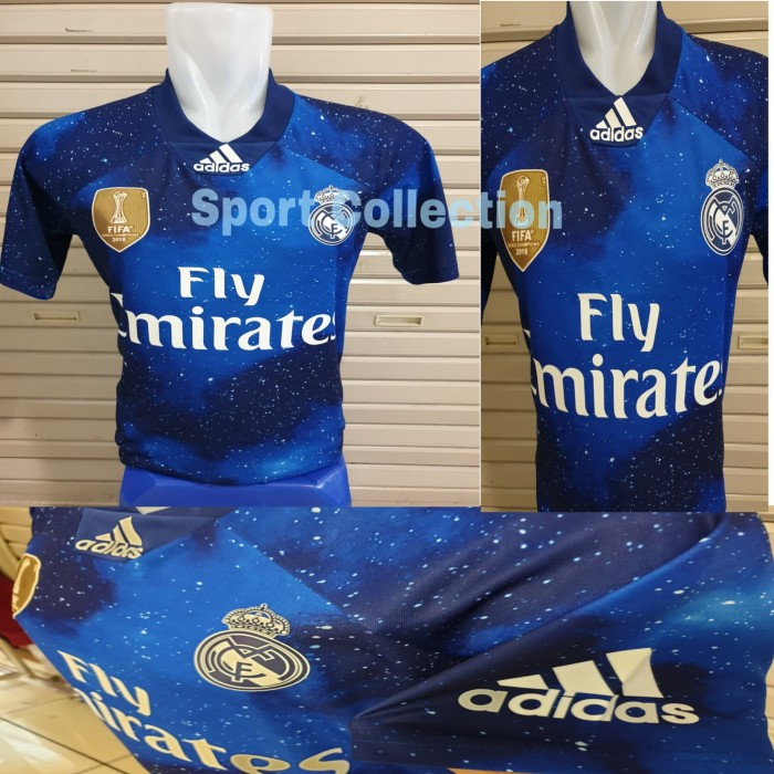 cheaper d28f3 6f5f4 Jual JERSEY BOLA REAL MADRID X EA SPORT 4TH LIMITED EDITION 2018-2019 GO -  Jakarta Pusat - SportCollection | Tokopedia