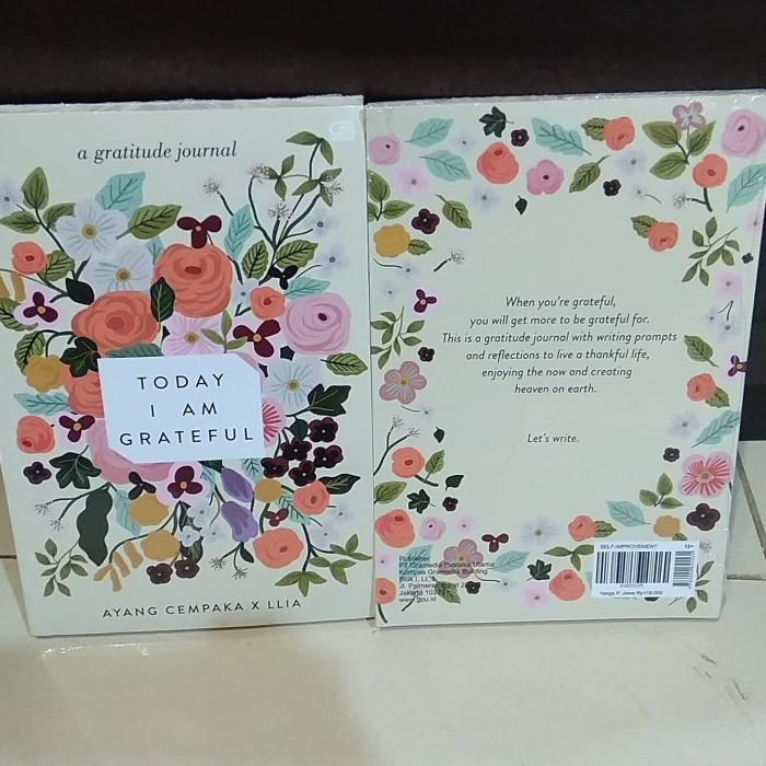Jual Today I Am Grateful Jakarta Selatan Rayna Book Tokopedia