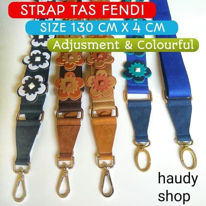 Promo Strap Bag Panjang/ Strap Tas Selempang / Tas Aksesories - Hitam