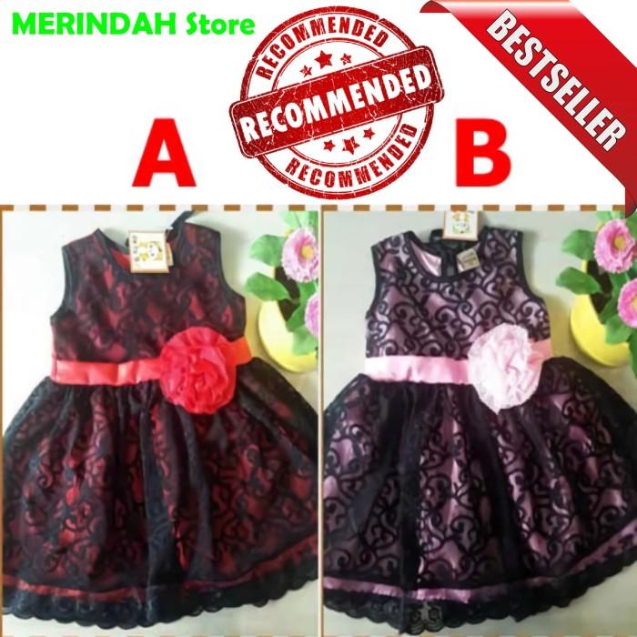 Jual Baju Balita Murah Dress Gaun Pesta Brokat Bayi Perempuan Recommended Dki Jakarta Merindah Store Tokopedia