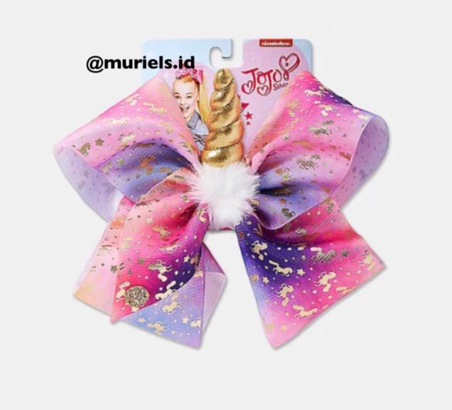 Jual Justice Exclusive Unicorn Horn Jojo Siwa Bow Original Pita Rambut Anak Jakarta Barat muriels | Tokopedia