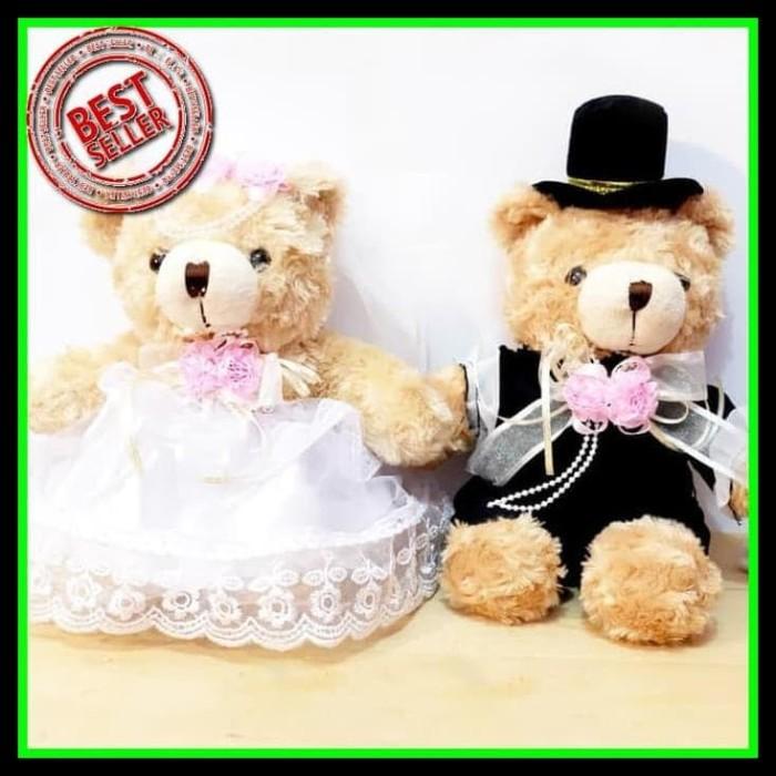 HOT SALE boneka wedding pernikahan couple beruang lucu Diskon terjamin. Toko  dalam status moderasi 83d7fe249c