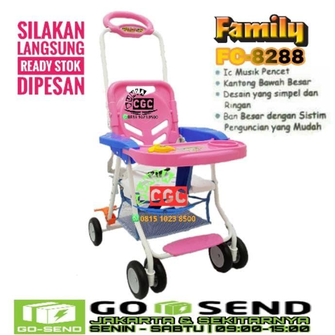 New Family Baby Chair Stroller Cs 8288 Meja Makan Khusus Gokilat -