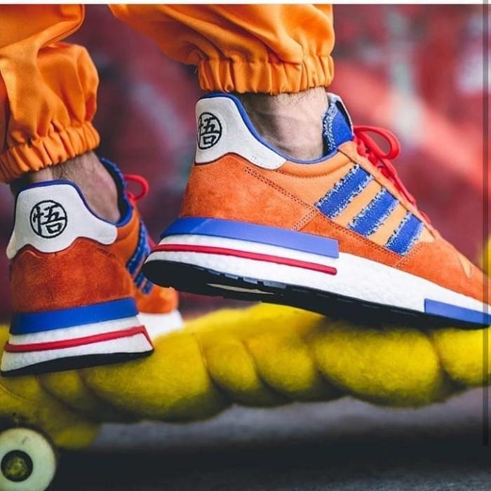 more photos 43d19 1ef87 Jual Adidas ZX 500 RM x Dragon Ball Z Edition Son Goku ORIGINAL MURAH - DKI  Jakarta - Ummah Sneakers | Tokopedia