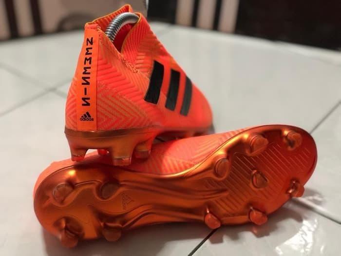 Jual Sepatu Bola Adidas Nemeziz 18 Fg Orange Original Grade