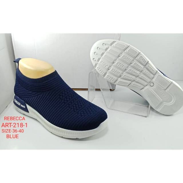 Jual SALE SALE Sepatu sneaker import wanita REBECCA 218-1 - Grosir ... 2fadf60d15