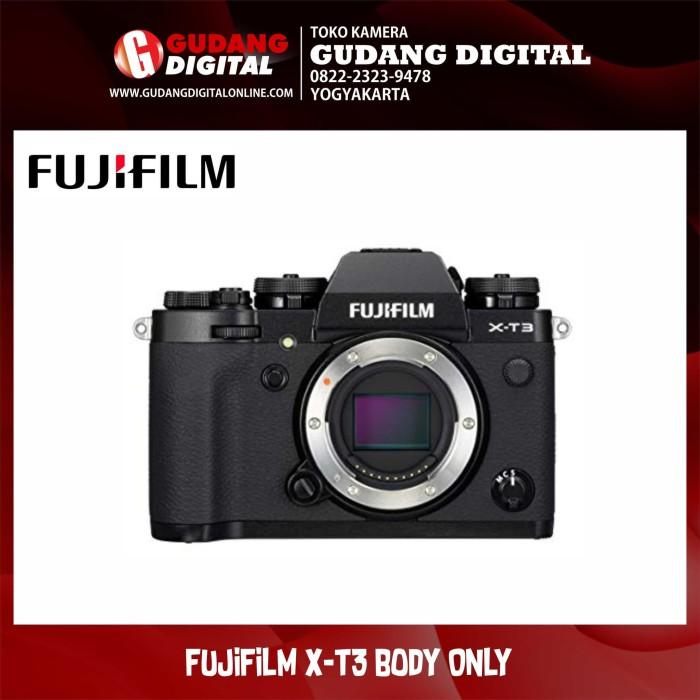 harga Kamera mirrorless fujifilm x-t3 / xt3 body only - hitam Tokopedia.com