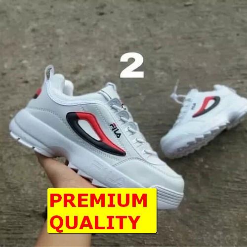 Jual Sepatu fila disruptor II wanita   sepatu sneaker  sepatu wanita ... c3b970deb7