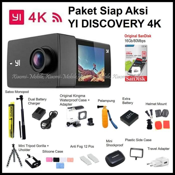 ... #Discovery #Action #Camera #Hitam Paket Siap Aksi Xiaomi Yi Discovery Action Camera 4K - Hitam siap, siapa, siapenet, siapa guadalajara, siap jabar, ...