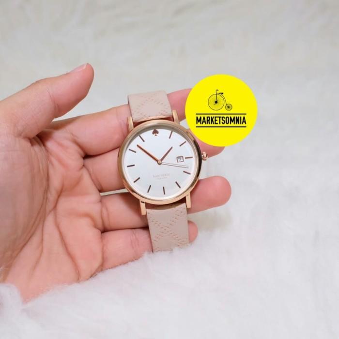 harga Jam tangan wanita cewek kate spade leather kulit cream1 Tokopedia.com